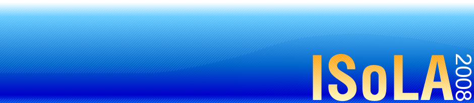 ISoLA 2008 Logo